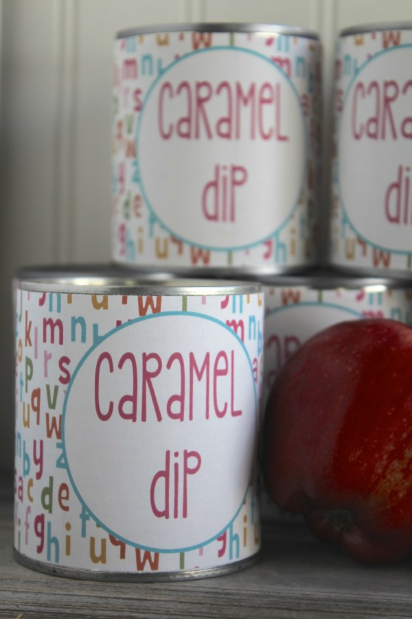 Caramel Dip Label Everyday Party Magazine