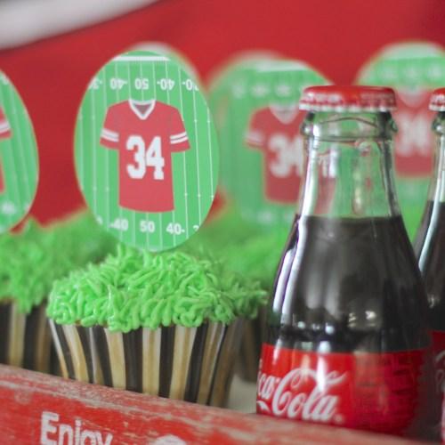 Everyday Party Football Party Decorations Cricut DIY