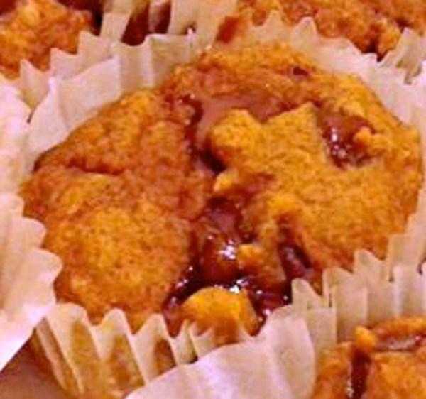 Everyday Party Magazine Pumpkin Chocolate Chip Pancake Muffin