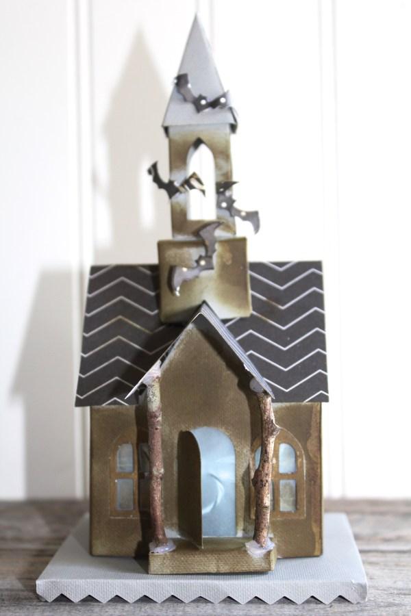 Everyday Party Magazine Haunted Church Halloween Treat Box