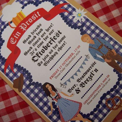 Everyday Party Magazine Oktoberfest Party