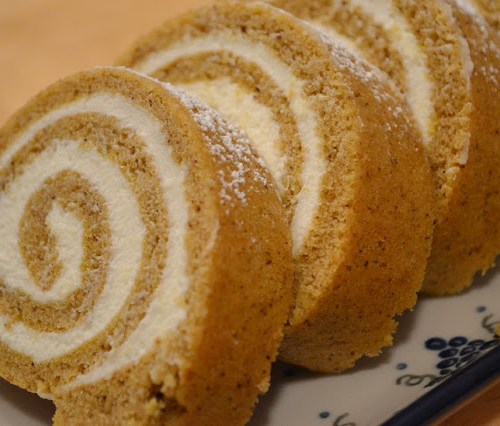 Everyday Party Magazine Pumpkin Roll Recipe by Sunny by Design