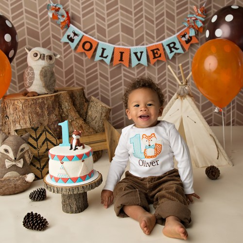 Everyday Party Magazine Oliver's Fall Inspired First Birthday by Sweet Georgia Sweet