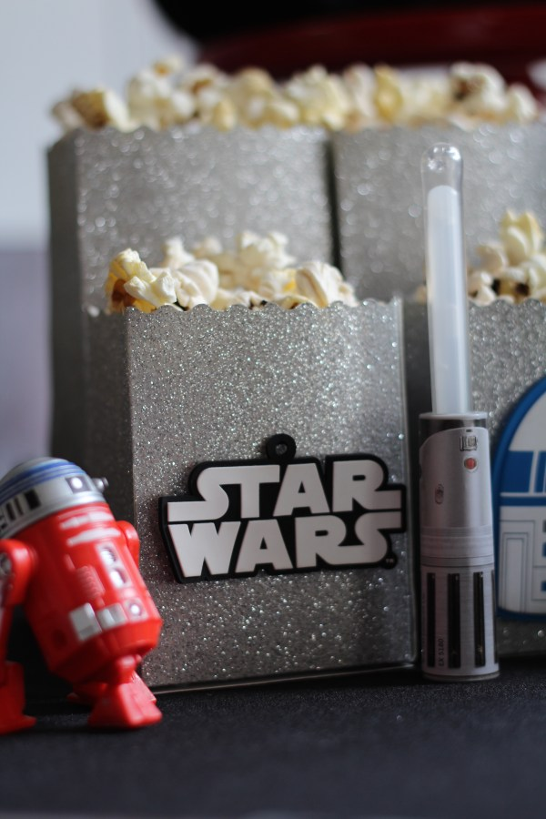 Everyday Party Magazine Star Wars Party Popcorn Box DIY