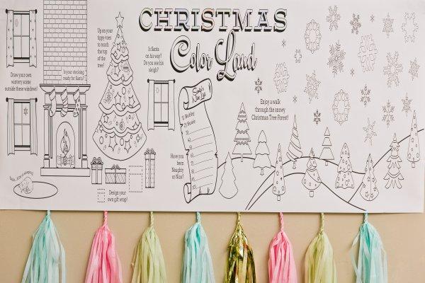 Everyday Party Magazine Children's Christmas Celebration Christmas Colorland by Christina Christian Event Concierge