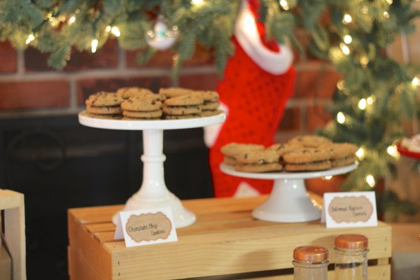 Everyday Party Magazine Christmas Cookies and Milk Party with AndersRuff Printables