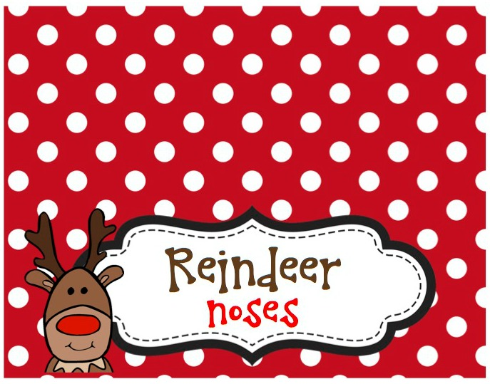 picture relating to Reindeer Noses Printable referred to as Bash Ladies Linky Bash 12 Xmas - Each day Celebration Journal