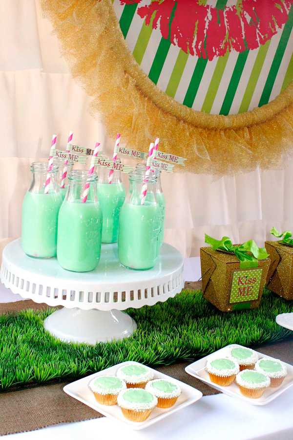 Everyday Party Magazine Kiss Me St. Patrick's Day Party by Misha Designs