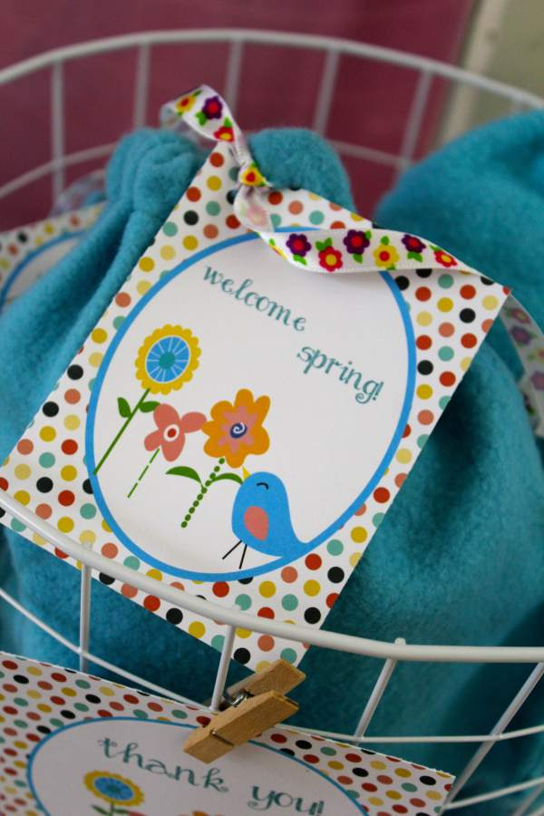 Everyday Party Magazine Welcome Spring Printable Party Set