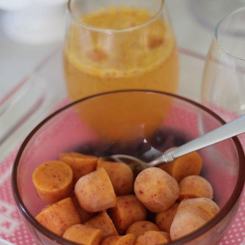 Everyday Party Magazine Peach Bellini Recipe