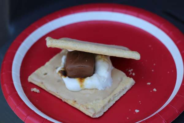 Everyday Party Magazine S'mores Station and Recipe