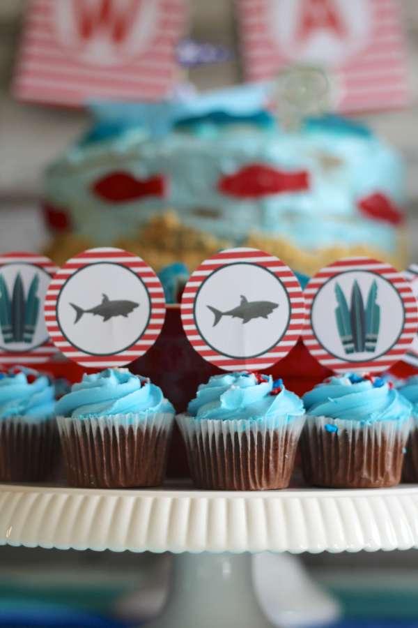 Everyday Party Magazine Shark Week Birthday Party 6