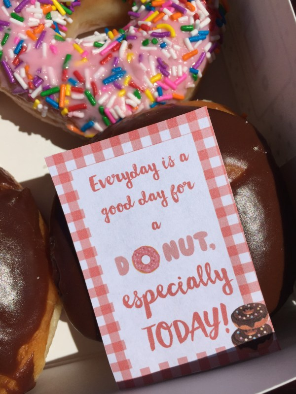 Everyday Party Magazine Free Donut Day Printable