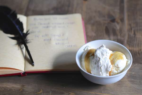Everyday Party Magazine Butter Beer Ice Cream Recipe