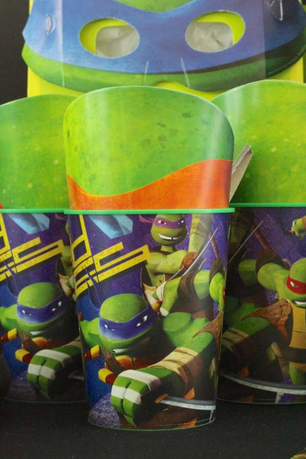 Everyday Party Magazine TMNT Birthday Party