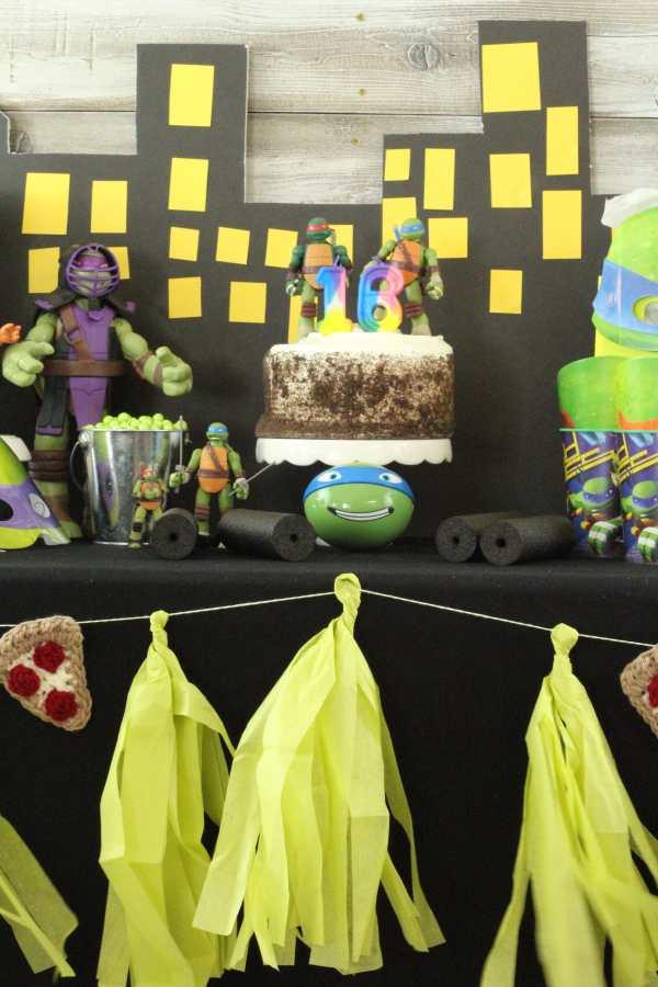 Everyday Party Magazine TMNT Birthday Party 38