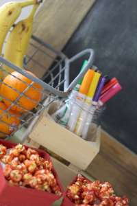 Everyday Party Magazine Back to School Snack Table