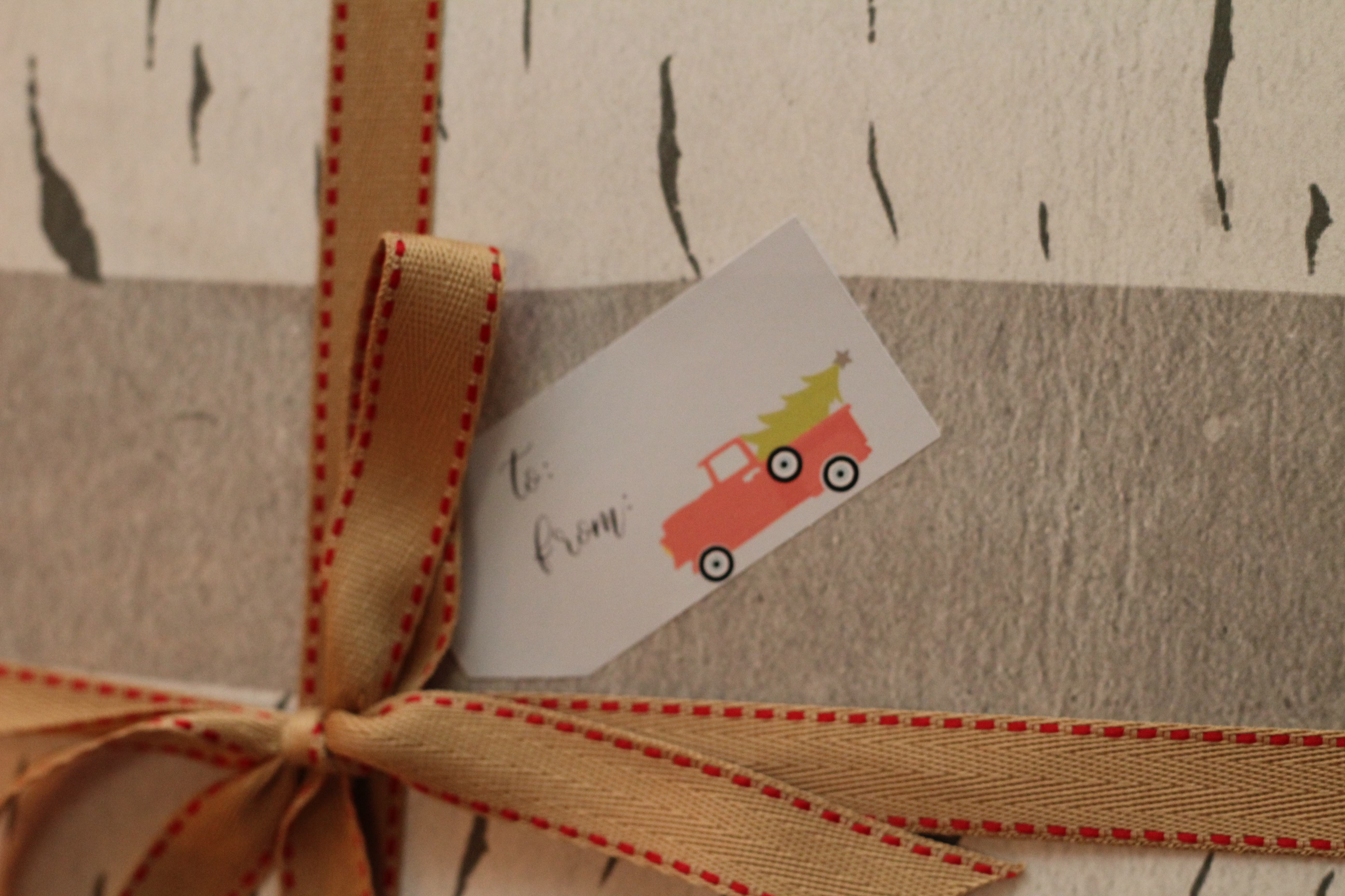 Everyday Party Magazine Simple Holiday Gift Tags
