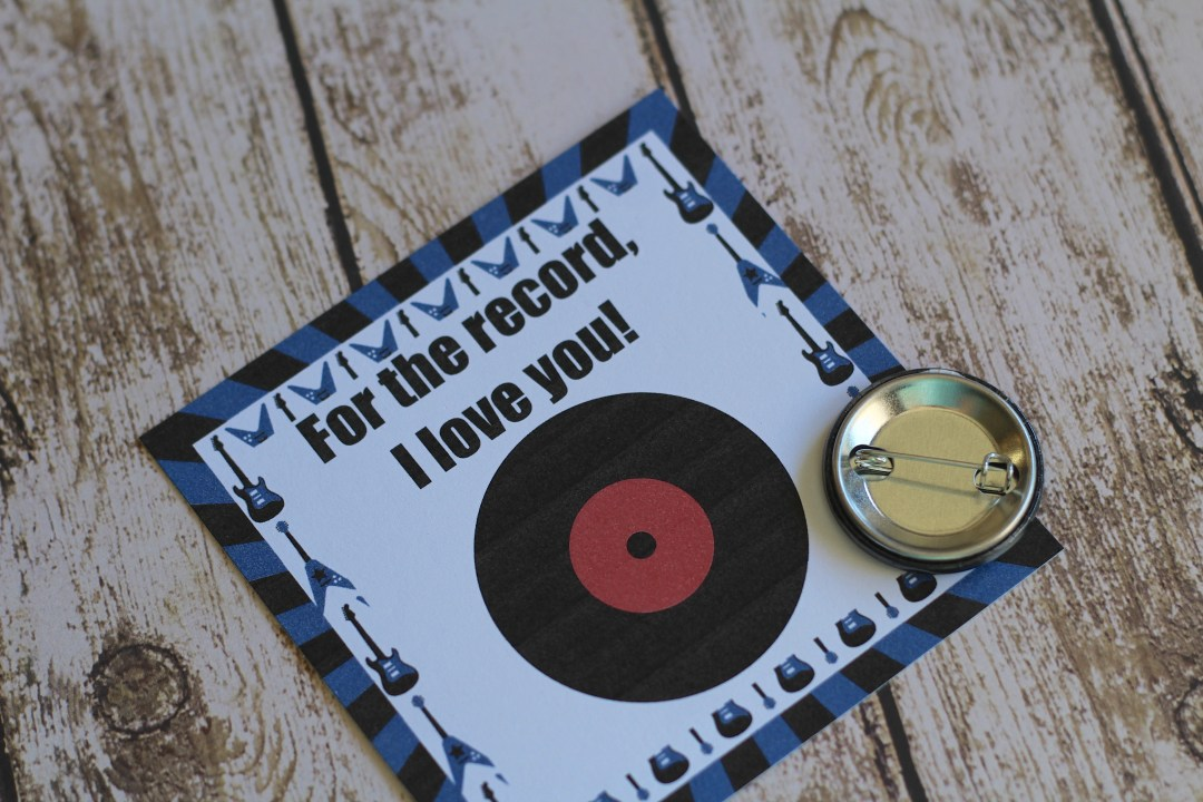 Everyday Party Magazine For The Record, I Love You Valentine's Day Tags
