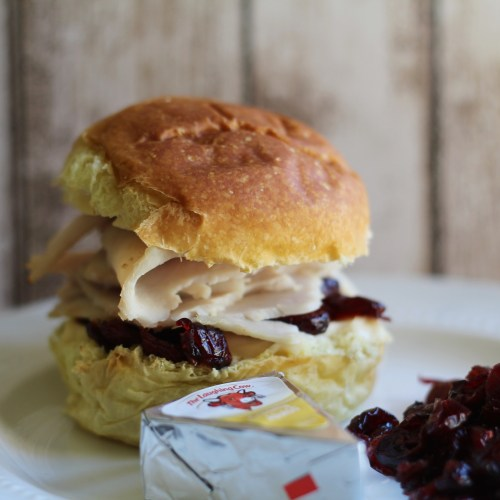 Everyday Party Magazine Turkey Cheese Slider