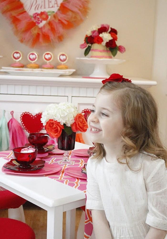 Everyday Party Magazine Valentine's Par-Tea by A Lovely Design
