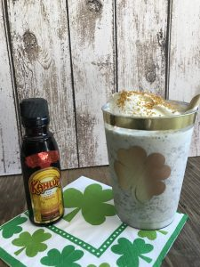 Everyday Party Magzine St. Patrick's Day Shake Cocktail