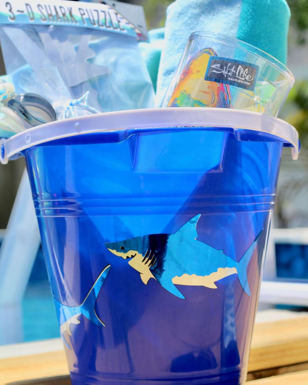 Everyday Party Magazine Quick Shark Themed Easter Bucket