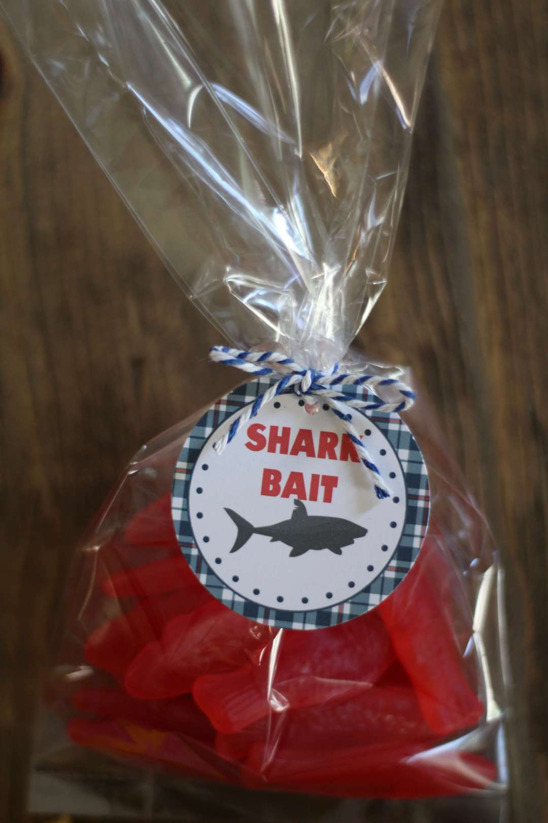 Shark Bait Free Printable Tags, Shark Week, Sharks, Free Printable, Freebies, Everyday Party Magazine