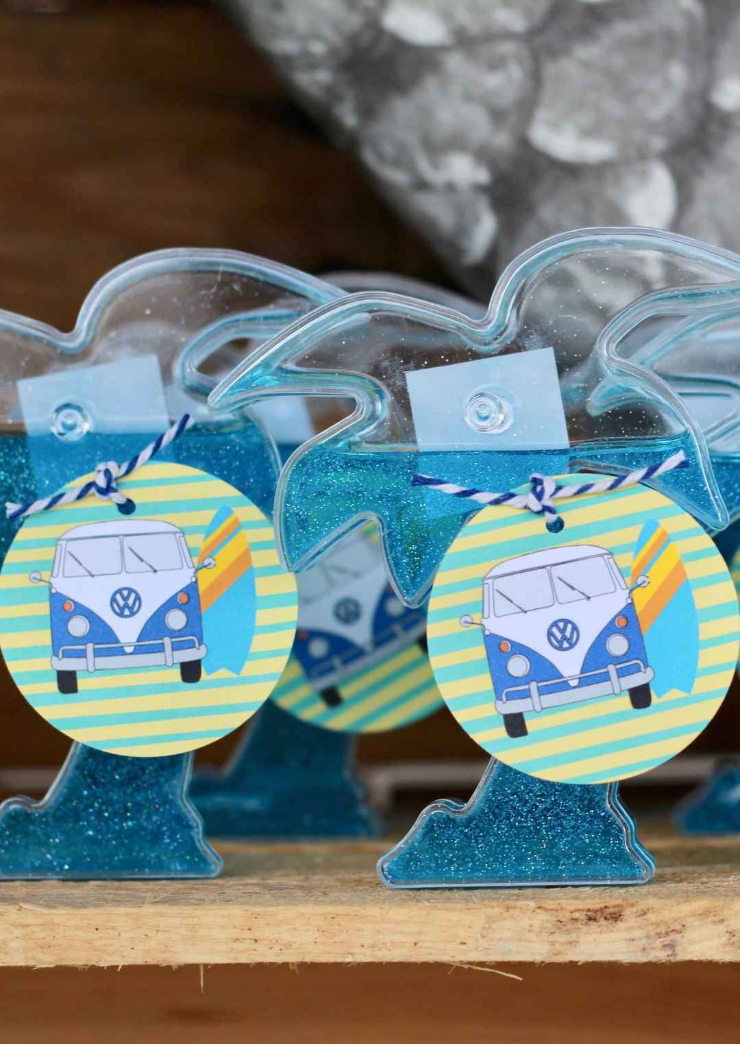Slime, Surf Party, Free Printables