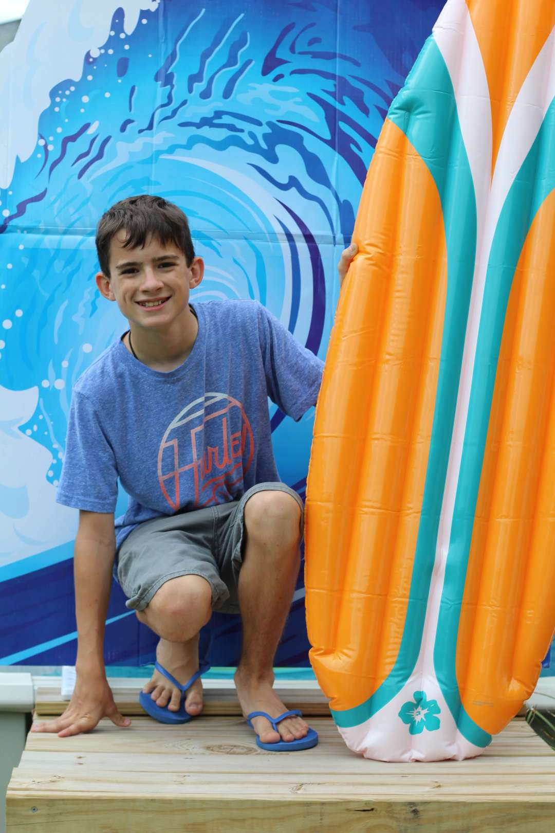 Everyday Party Magazine, Surf, Pool Party, Surf Shack, Oriental Trading Company, Surfer Boy
