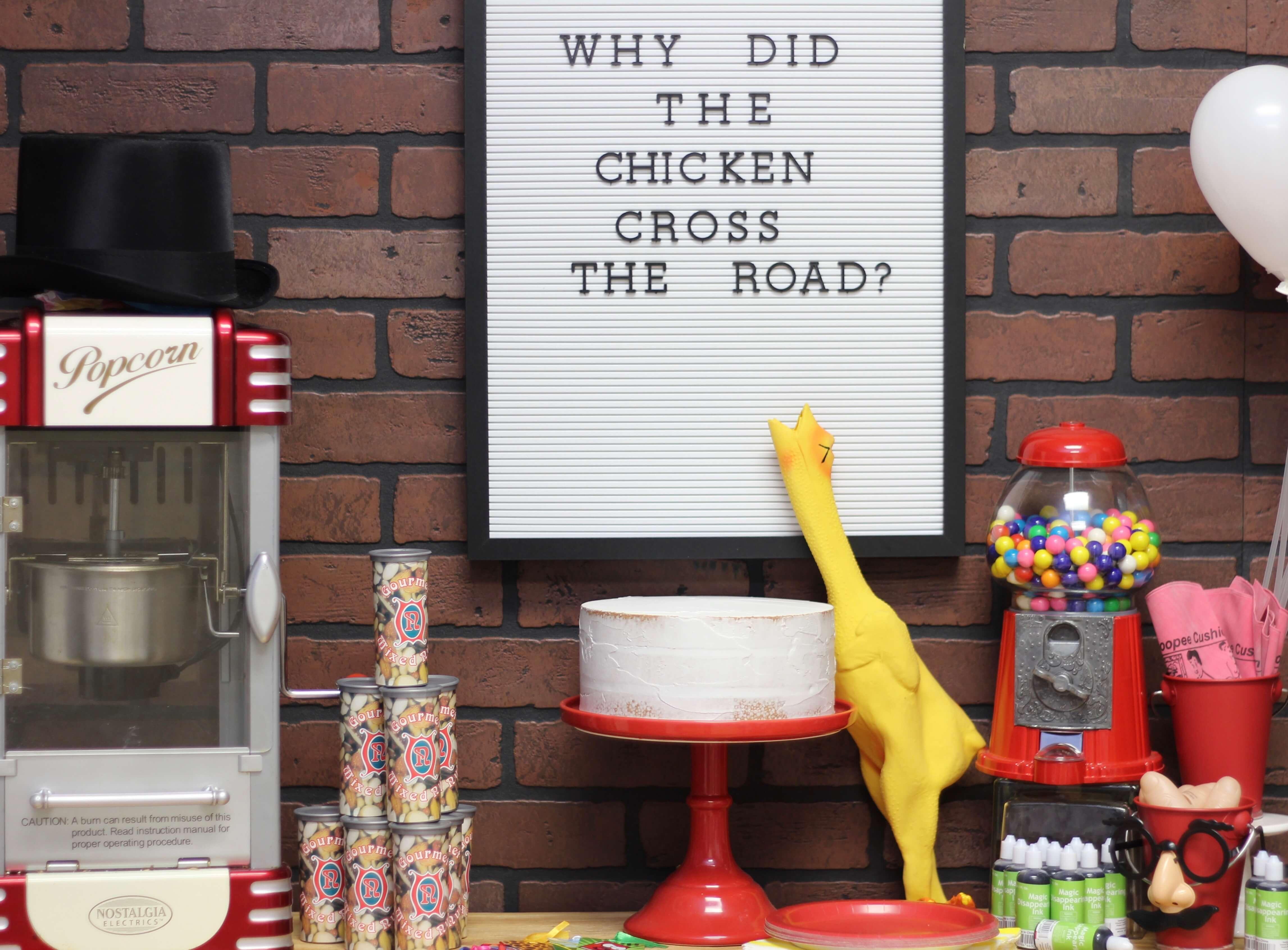 Everyday Party Magazine Practical Joke Party