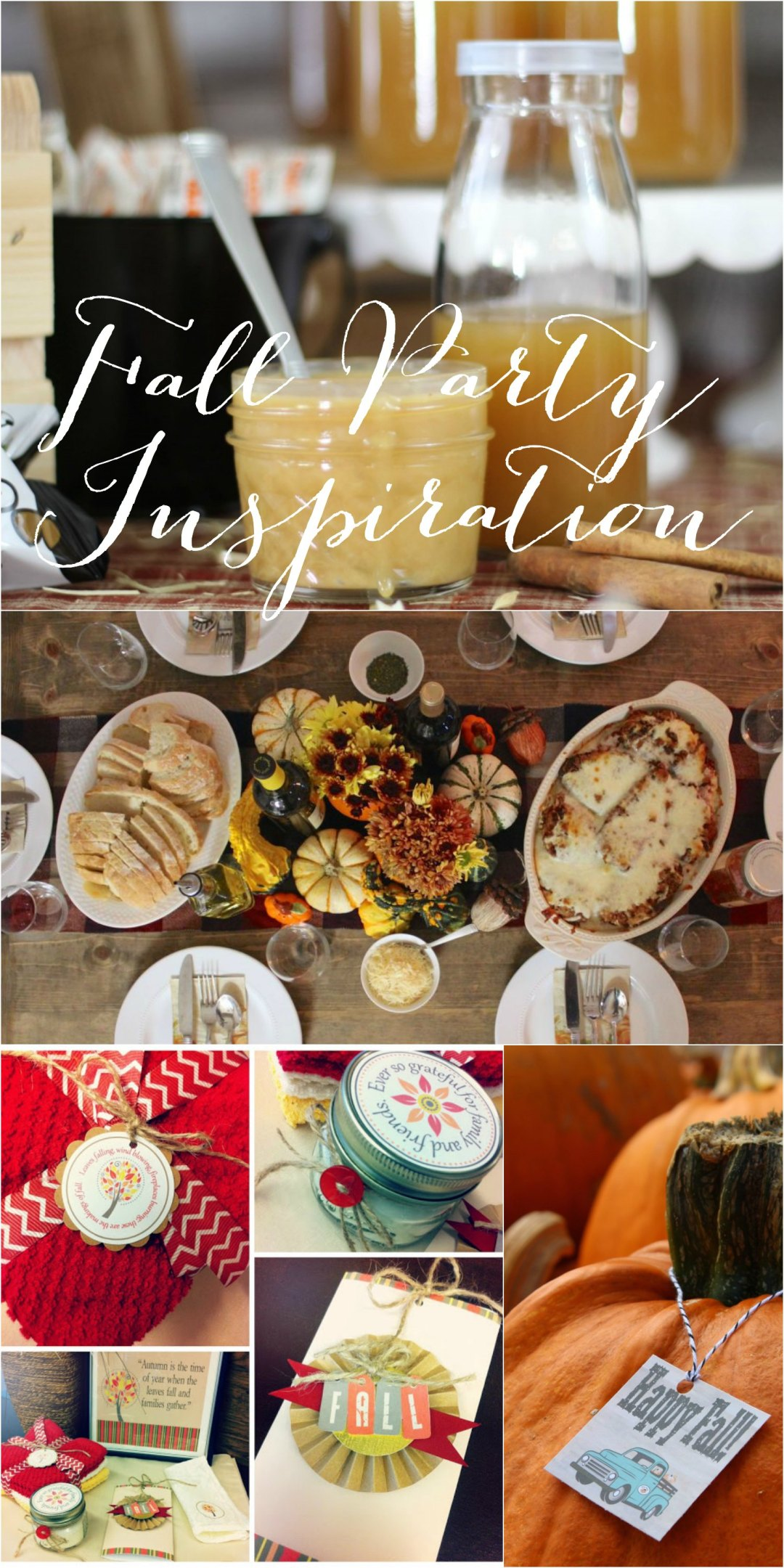 Everyday Party Magazine Fall Party Inspiration