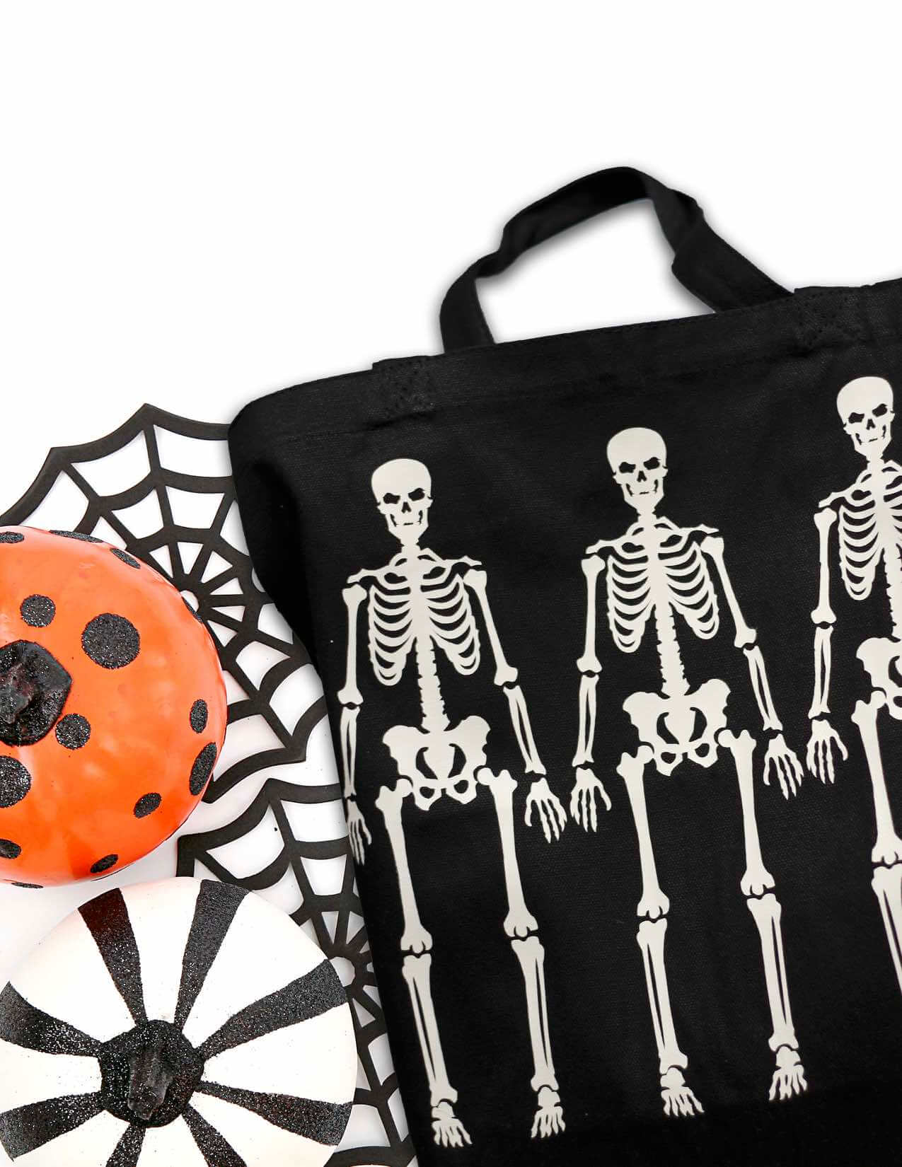 Everyday Party Magazine Hand Made Halloween Trick or Treat Bag