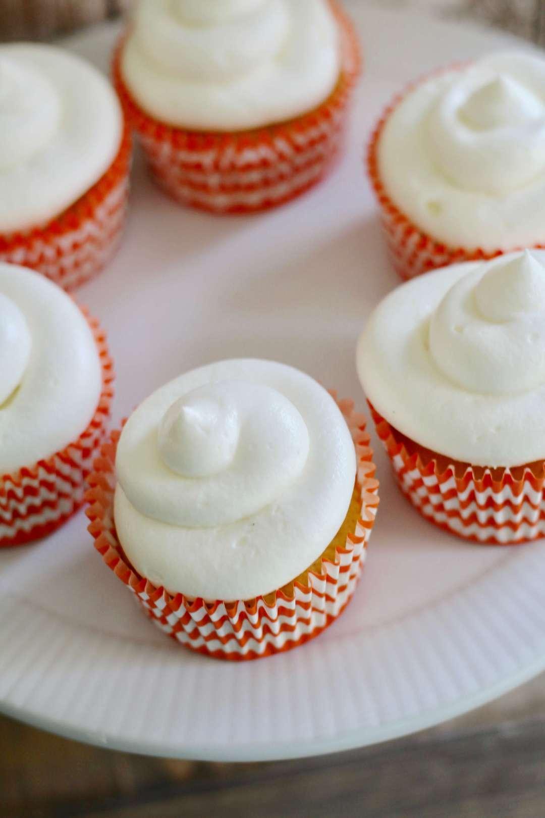 Everyday Party Magazine Pumpkin Spice Cupcakes