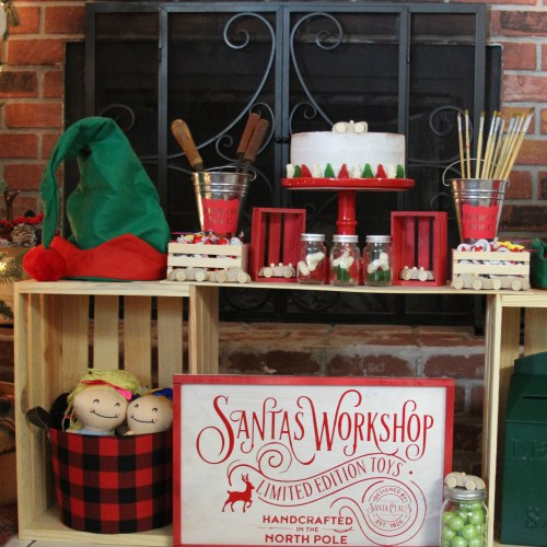 Everyday Party Magazine Santa's Workshop