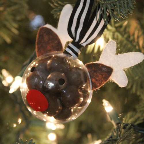 Everyday Party Magazine 5 Minute Rudolph Ornament