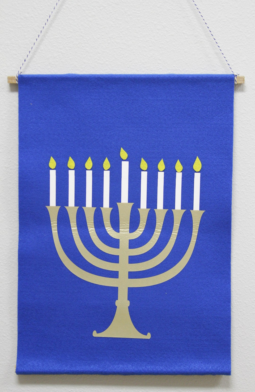 Everyday Party Magazine Simple DIY Menorah Calendar