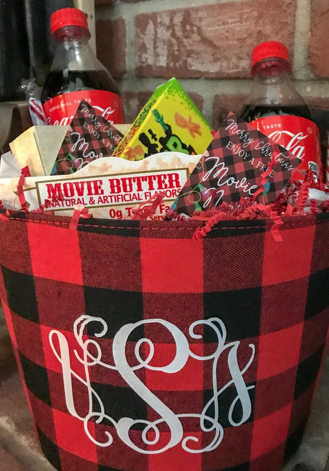 Everyday Party Magazine Movie Night Gift Basket