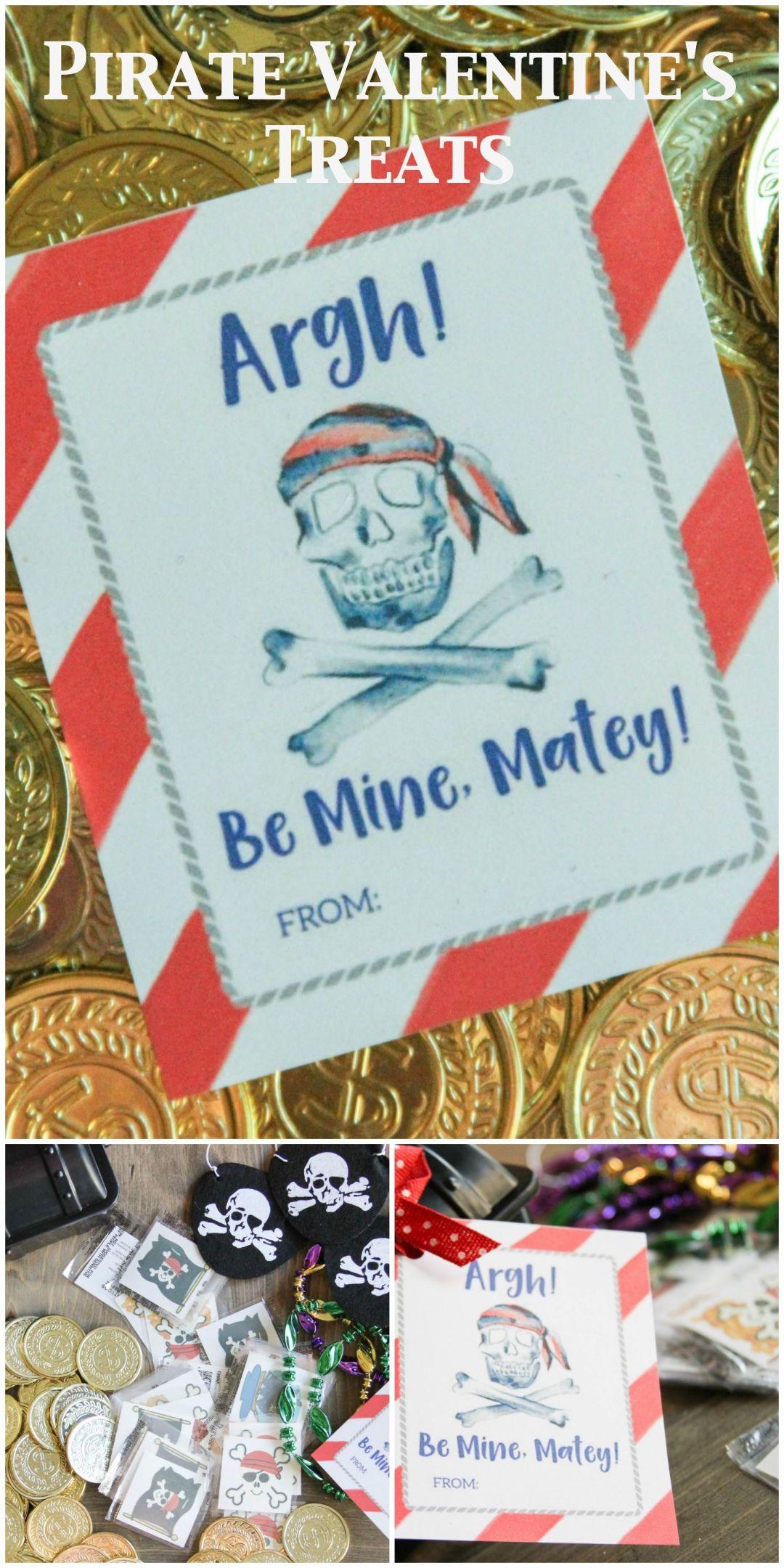 Everyday Party Magazine Pirate Valentine's Day Treats
