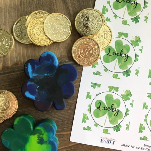Everyday Party Magazine St. Patrick's Day Printable #StPatricksDay #FreePrintable #PartyCircles