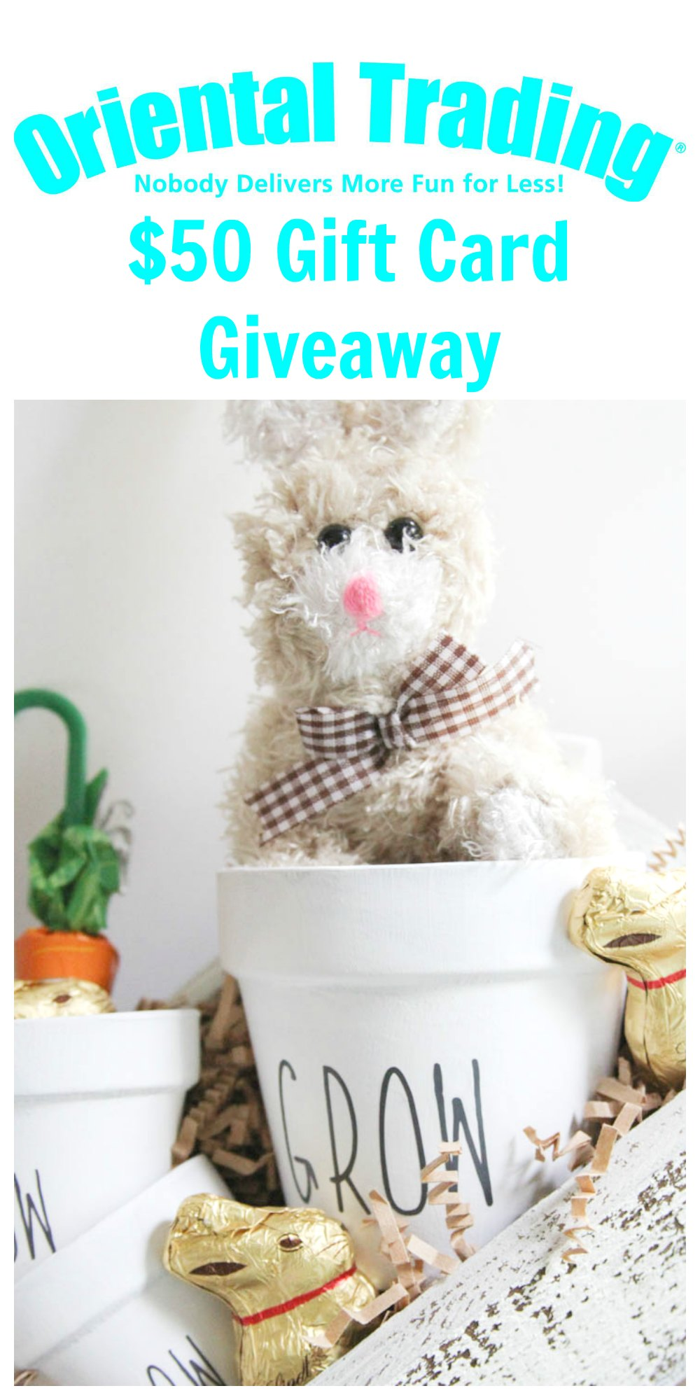 Everyday Party Magazine Oriental Trading Gift Card Giveaway