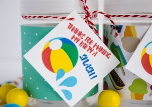 free printable for beach party favors