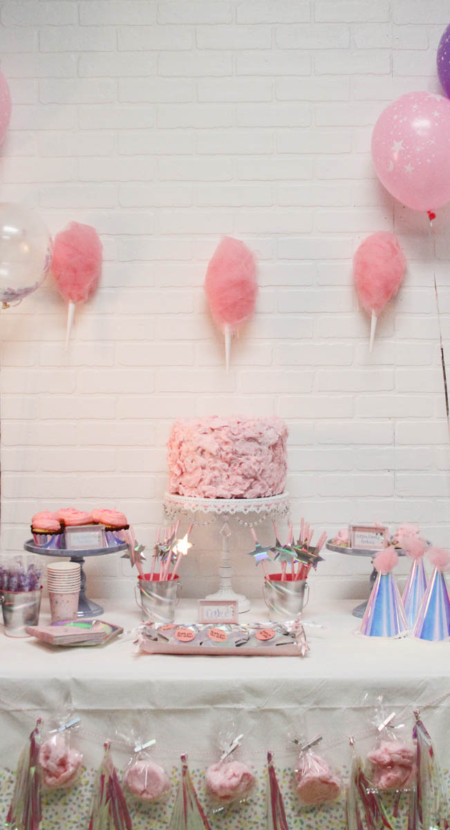 Everyday Party Magazine Cotton Candy Party with Cricut #CricutMade #MarthaStewart #CottonCandy #CottonCandyParty #UnicornParty