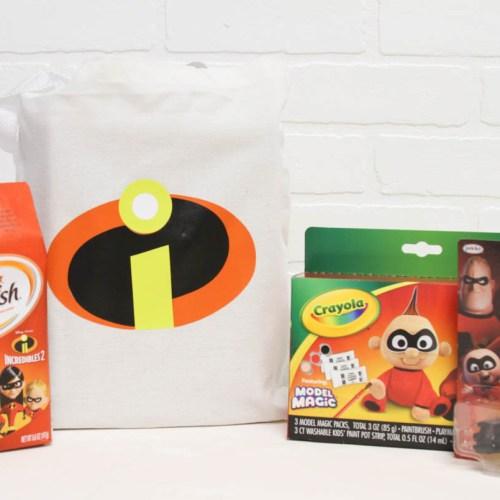 Everyday Party Magazine Incredibles 2 Activity Bag #CricutMade #Incredibles #DisneyMom #DisneySide #Pixar