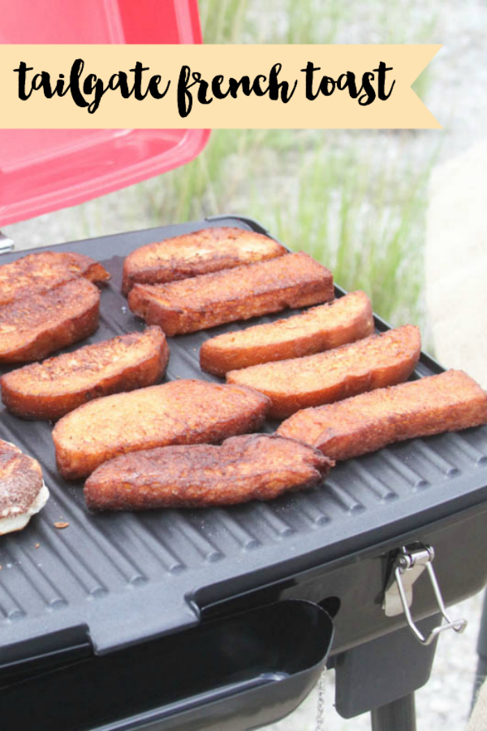 Everyday Party Magazine Breakfast Tailgate Recipe #Recipe #Tailgate #Camping