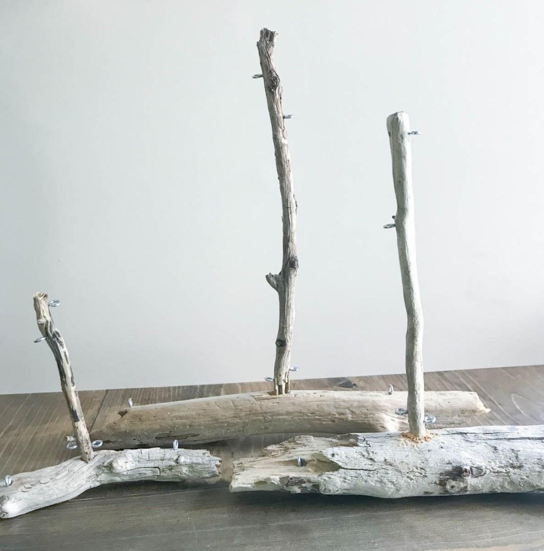 Everyday Party Magazine Driftwood Sailboat DIY #CricutMade #DIY #Driftwood #WeddingDIY
