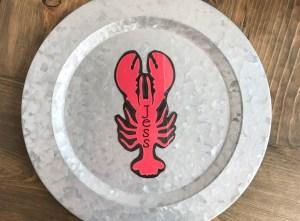 Everyday Party Magazine Laminated Bag Tag DIY #Xyron #Ad #Lobster #Seaside #DIY