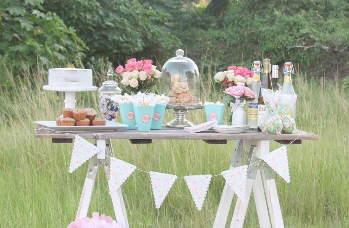 3ff34d0a89db1 Shabby Chic Baby Shower - Everyday Party Magazine