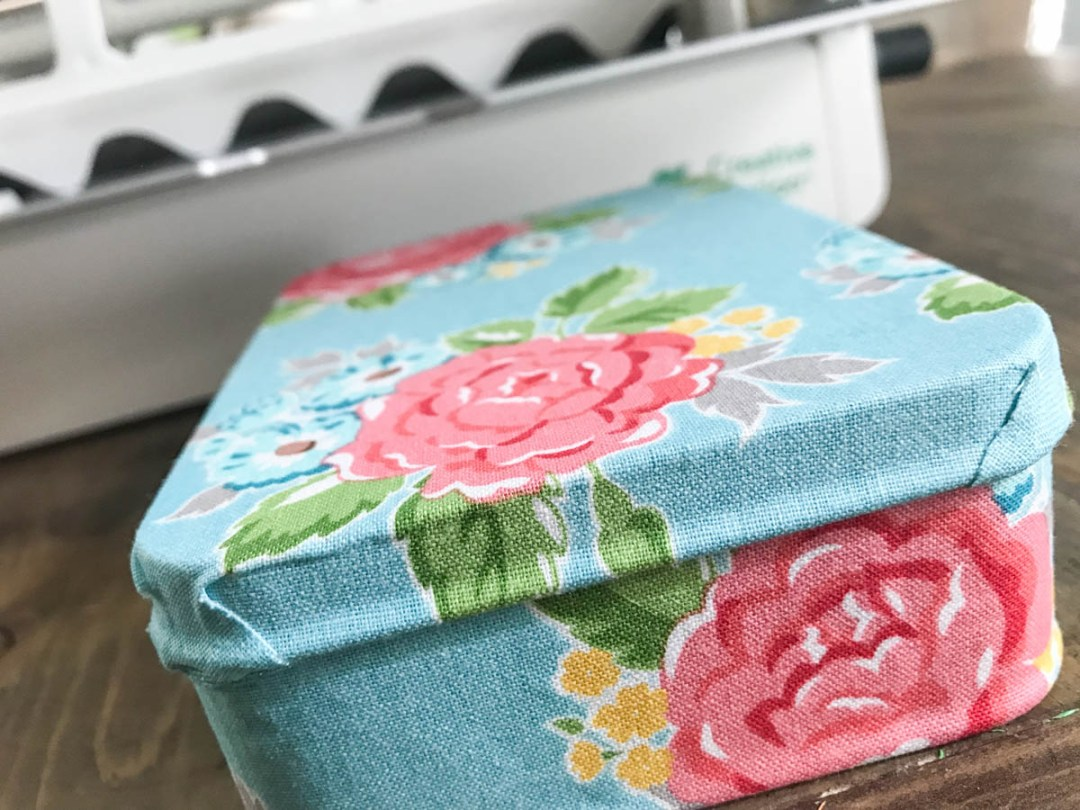 Xyron Creative Station Floral Fabric Covered Box