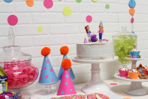Polly Pocket Cake Party Hats